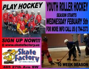 Roller Hockey at Skate Factory