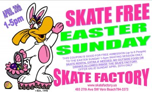 Easter Sunday Skate