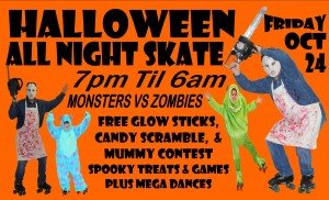 HALLOWEEN ALL NIGHT SK8