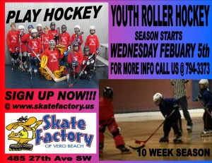 Roller Hockey at Skate Factory