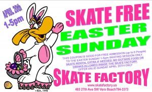 Easter Sunday Skate