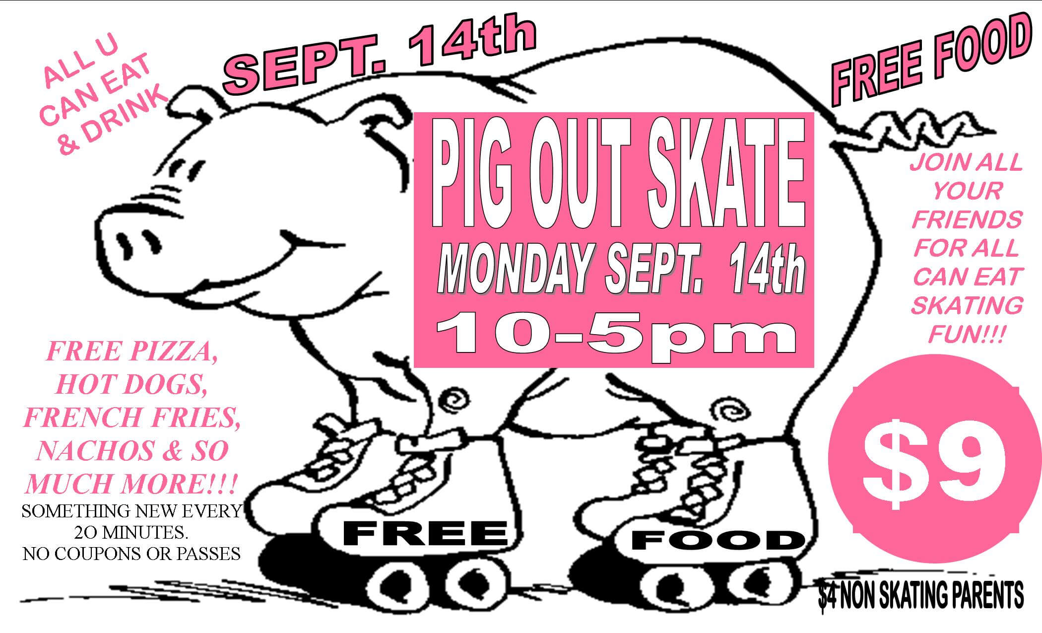 Pig Out Skate
